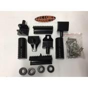 Saddlebag Rubber  AND MOUNTING BRACKET Replacement Kit