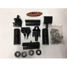 Saddlebag Rubber  AND MOUNTING BRACKET Replacement Kit