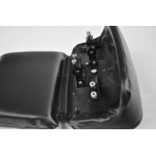 BLACK CHOPPED TOUR PACK BACKREST, 2014+