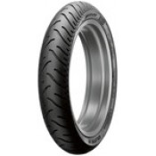DUNLOP 90/90/21 AMERICAN ELITE, BLACK WALL FRONT TIRE