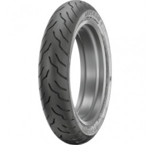 130/80B-17-65H DUNLOP AMERICAN ELITE FRONT BLACK WALL TIRE