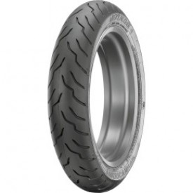 DUNLOP 130/70-B18 63H AMERICAN ELITE FRONT BLACK WALL TIRE, 0305-0308