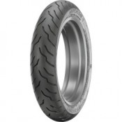 DUNLOP  130/60-B21 AMERICAN ELITE BLACK WALL FRONT TIRE,0305-0546
