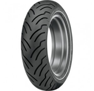MT/90-B16 74H DUNLOP AMERICAN ELITE NARROW WHITE WALL REAR TIRE