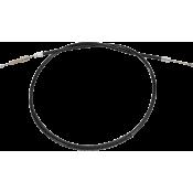 DRAG SPECIALTIES 0652-1396 Black Vinyl High Efficiency Clutch Cable