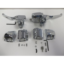 Factory Products, Chrome Handlebar Control Kit