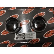 Turn Signal Smoked Lens Kit with Chrome Ring