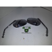 USED - 2004 Sportster HD Mirrors - Chrome - OEM 91846-03/91848-03 - ID 1053