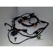 USED - 2004 Sportster Custom - Main Wire Harness with ignition and key - OEM 70139-04 - ID 1061