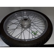 "USED - 2004 - Sportster - 21"" Laced front wheel with Metzler Rubber 4/32"" - OEM 43557-05A - ID 1072"