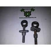 "USED - 2004 - Sportster - 3/4"" Rear Axle adjuster bolts - Pair - ID 1076"