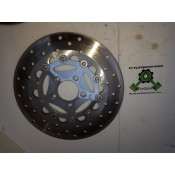 USED - 2006 FLTR Front Brake Rotor Disc - Floating - Chrome - ID 1144