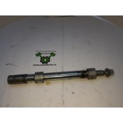 """USED - 2006 FLTR 3/4"""" front axle with spacers - OEM 43364-00 - ID 1146"""