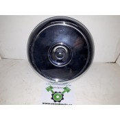 USED - EVO style Round Air Breather Cover - ID 1195