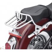 GENUINE Harley Davidson HoldFast Two-Up Luggage Rack - Chrome OEM 50300132