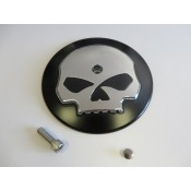Factory Product, Round Air Cleaner Cover W/ Chrome Skull