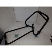 USED - 98-08 Saddle Bag Rails/Guards - right side has slight bend - scuffed - ID 1414