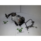 USED - 1996 FLHRI Fuel Injection Manifold with injectors and fuel lines - OEM 27202-95 - ID 1501