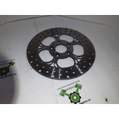 USED - 84-99 Touring Front Brake Rotor Disc - Chrome - ID 1503