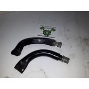 USED - 83-96 Touring Floorboard mounts - Right -  OEM 47365-83C/50518-83B - ID 1563