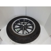 USED - 84-99 FLHR Front wheel with Dunlop 402F rubber - 16 Spoke - Single disc - OEM 43493-87A - ID 1573
