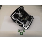 OEM HD-16500474 CYLINDER HEAD FRONT WITH VALVES AND SPRINGS - USED