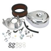 S&S® Teardrop Air Cleaner Kit Super E & G Carburetors 1993-'99 HD® B/T @ 1991-'03 Sportster®.