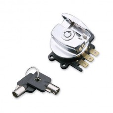 CHROME PLUG IN IGNITION SWITCH '93-'02,