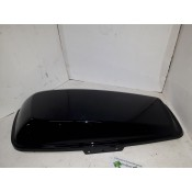 USED - 2014 later Touring Saddlebag lid - Left - gloss black - OEM 90200827 - ID 1725