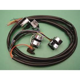 WIRE HARNESS,WITH CHROME SWITCHES, FITS  82-95