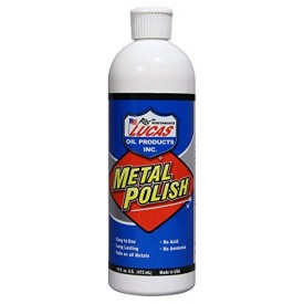 Lucas Metal Polishing 16 Oz Bottle