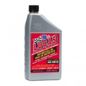 Lucas Motorcycle Oil Synthetic SAE 20W-50, Six Pack.