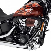 NEW - HD Screamin Eagle Heavy Breather A/C Kit Chrome for 08 Later Touring - OEM 29253-08A - ID 2075