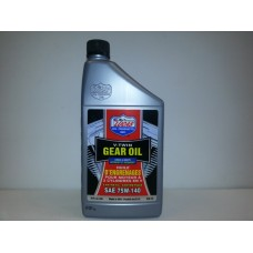 Lucas Oil, Synthetic V-Twin Gear Oil, 75W-140 SAE, 32 FL Oz.