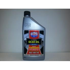 Lucas Oil, Synthetic V-Twin Gear Oil, 75W-140 SAE, 32 FL Oz.