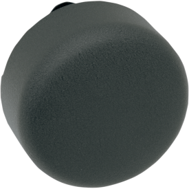 91-14 ROUND WR/BLK HORN COVER  2107-0046