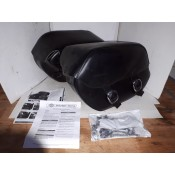 NEW  - Dyna H-D Leather Saddlebags - Quick Detach - OEM 90181-08A - ID 2112
