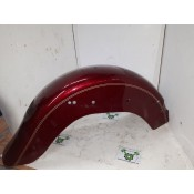 USED - 2000-04 Fatboy Softail Rear Fender - Red with gold - OEM 59596-00 - ID 2137