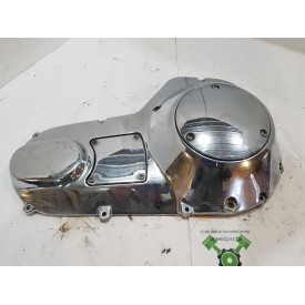 USED - 94-99 FLH EVO Outer Chrome Primary Cover - OEM 60665-94 - ID 2214