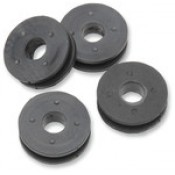 REPLACEMENT BUSHINGS FOR OEM DETACHABLE HARLEY DAVIDSON WINDSHIELD 94-19 FLHR W/S BUSHING KIT 4PK 2320-0102