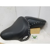 USED - 2000-07 Softail Seat - studded - 2 piece - ID 2375