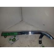 USED - 2008 Fatbob Belt guard - chrome - OEM 60633-08 - ID 2457