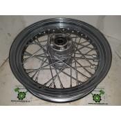 "USED - 2000 FLH Front wheel - laced - 3/4"" bearings - OEM 40960-00 - ID 2925"
