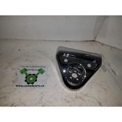 USED - 2003-08 FLHR Centre necelle steering lock handlebar cover - chrome - OEM 67866-03 - ID 2664