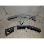 USED - 09-13 Frame gaurds - chrome - pair - OEM 47526-09/47522-06 - ID 2670