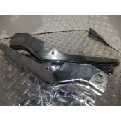 USED - 97-08 FLH Chrome frame guards - pair - OEM 47502-97/47504-97 - ID 2781