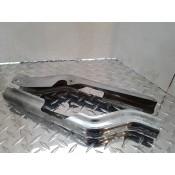USED - 97-08 FLH Chrome frame guards - pair - OEM 47502-97/47504-97 - ID 2864