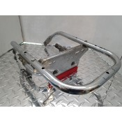 USED - 2000 FLH Rear trunk  support bracket with licence plate - ID 2871