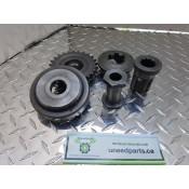 USED - 1995 FXWG Front compensator sprocket 25T - OEM 40308-94 - ID 2941