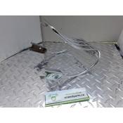 USED - 1995 FXWG - Rear fender luggage rack - chrome - ID 2944